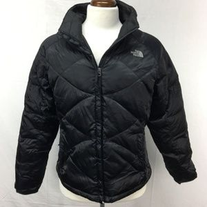 North Face Black Goose Down Puffer Coat Jacket 550